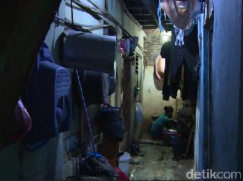 Ancaman Corona di Pemukiman Padat Jakarta