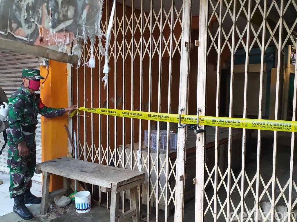 Ada Pedagang yang Positif Corona, Pasar Kangkung Kendal Ditutup