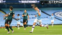 Video Man City Pesta Gol, Bantai Burnley 5-0