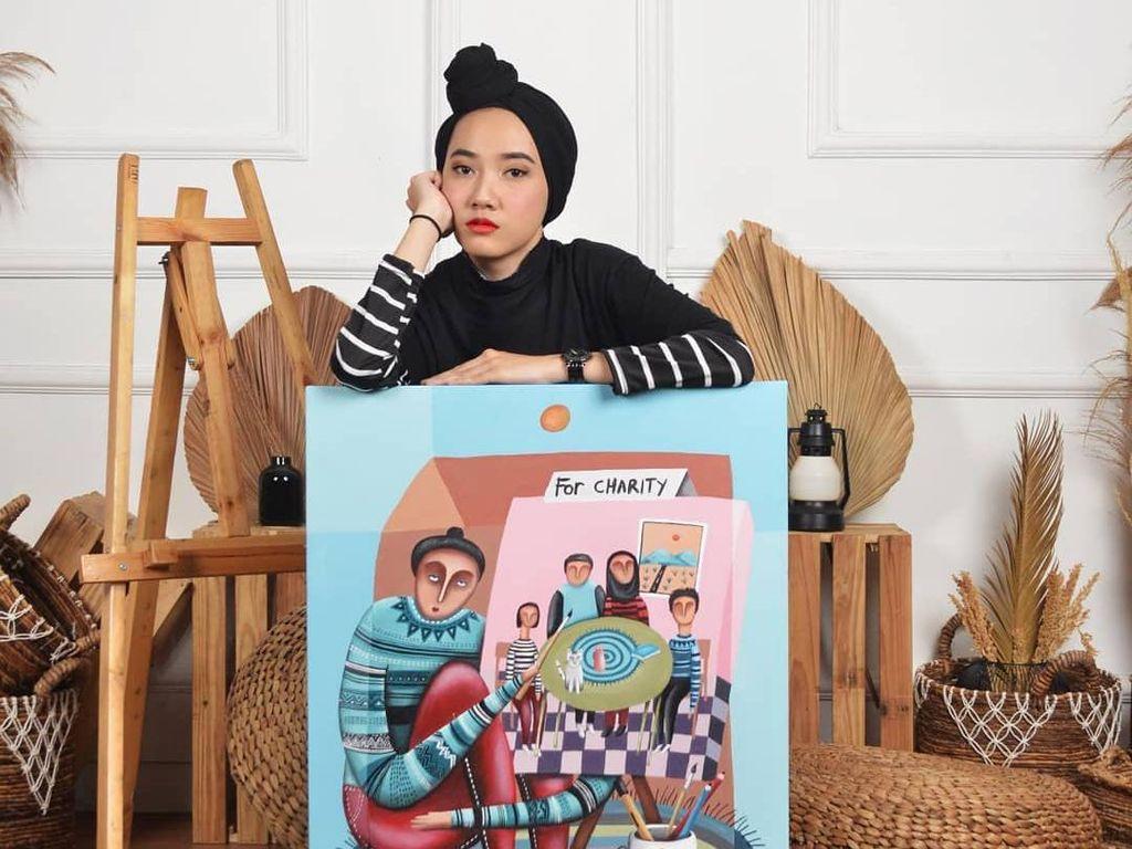 Dari Cilegon dan Mendunia, Imelda Adams Makin Dikenal Sebagai Seniman