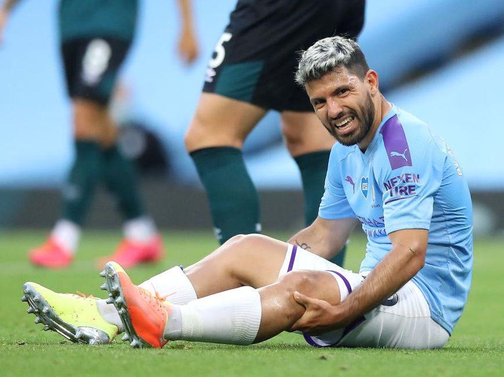 Guardiola: Cedera Aguero Pukulan bagi Man City di Liga Champions