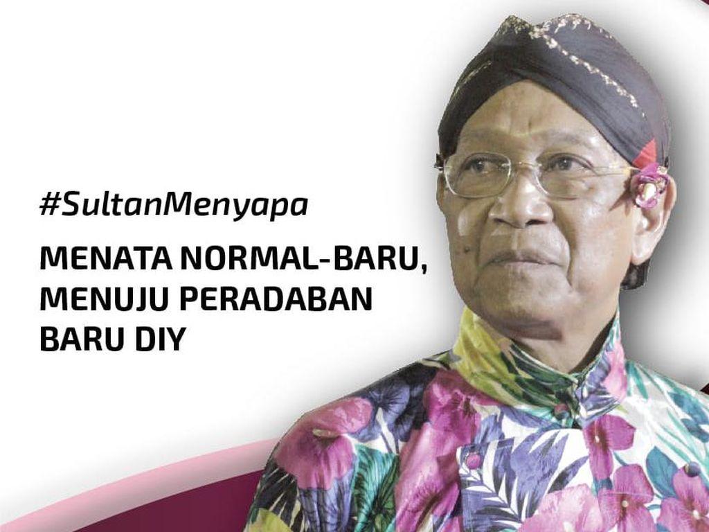 Songsong New Normal, Sultan Dengungkan Peradaban Baru Yogyakarta