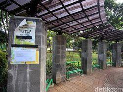 PSBB Transisi, Taman Tanjung Masih Ditutup