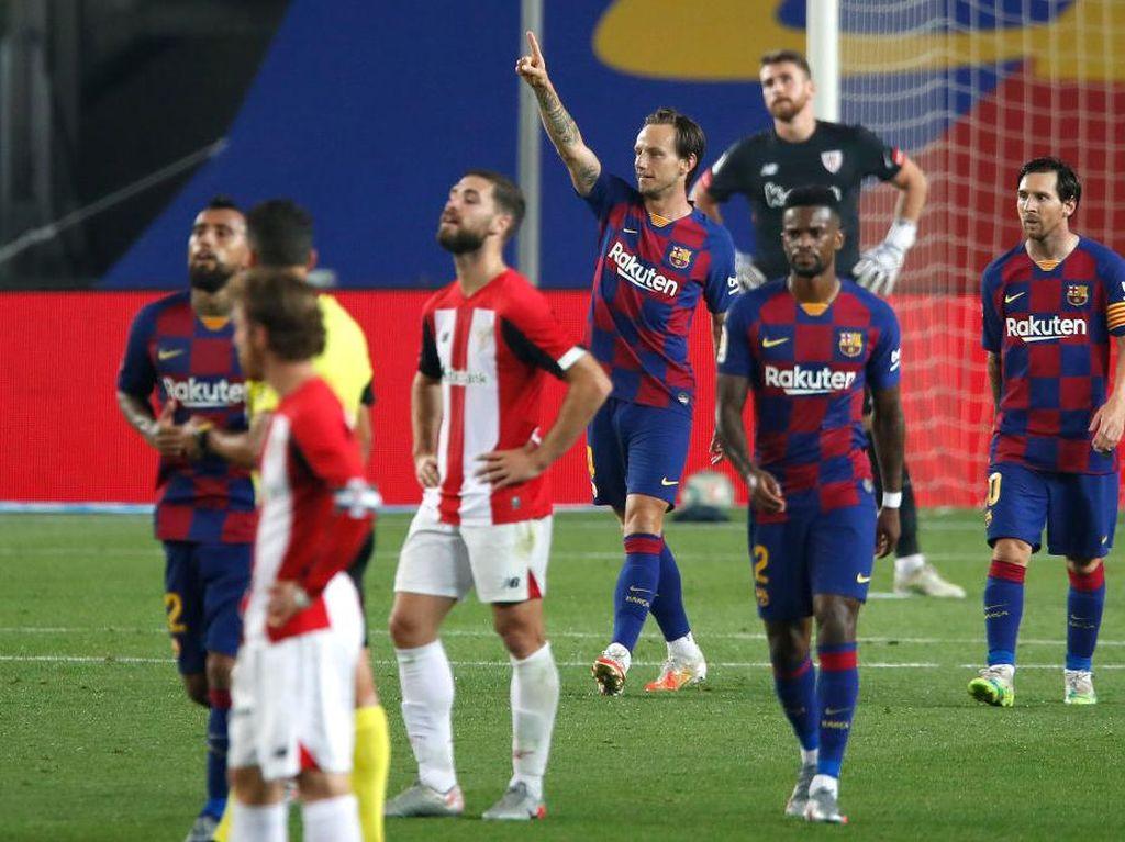 Video Gol Rakitic Menangkan Barcelona atas Athletic Bilbao