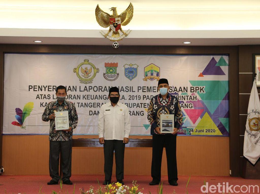 Tiga Daerah di Banten Dapat Predikat WTP, Dana BOS Jadi Sorotan