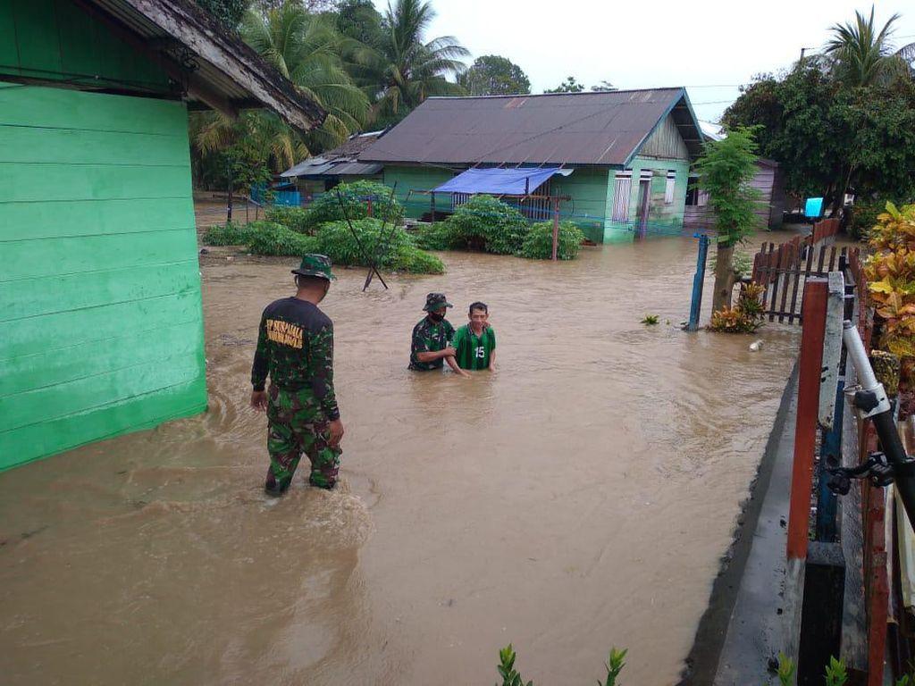Curah Hujan Tinggi, 280 Rumah di Banggai Sulteng Terendam Banjir