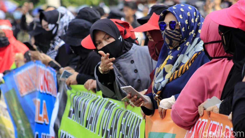 Demo di Gedung Sate, Formasi Jabar Kritisi RUU HIP