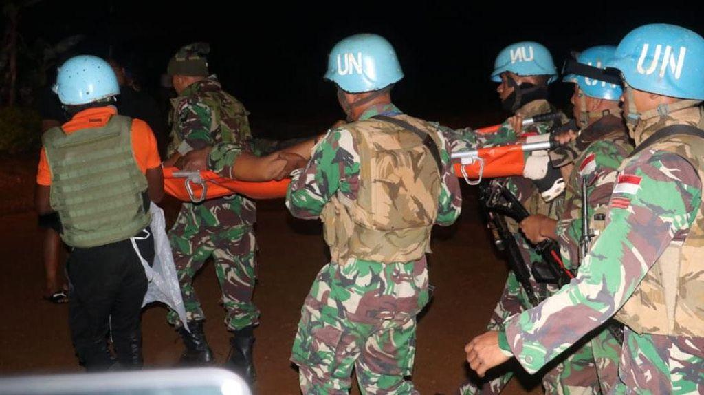Diserang Kelompok Bersenjata, Serma Rama Gugur di Kongo