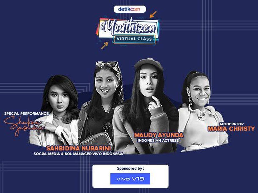 dYouthizen Virtual Class Bahas Digital Marketing & Maudy Ayunda