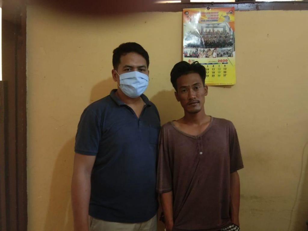 Aniaya Ayah Usai Tuduh Selingkuh dengan Istrinya, Emon Ditangkap Polisi