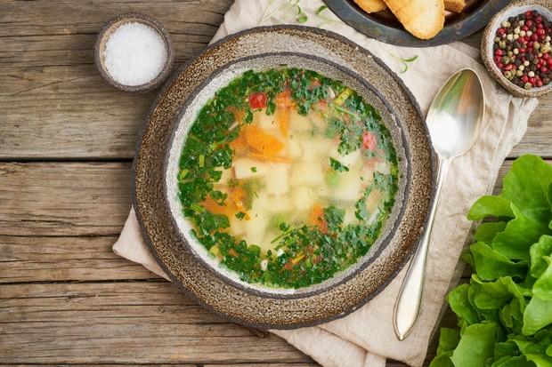 Sup ayam dapat mengatasi lendir di tenggorokan