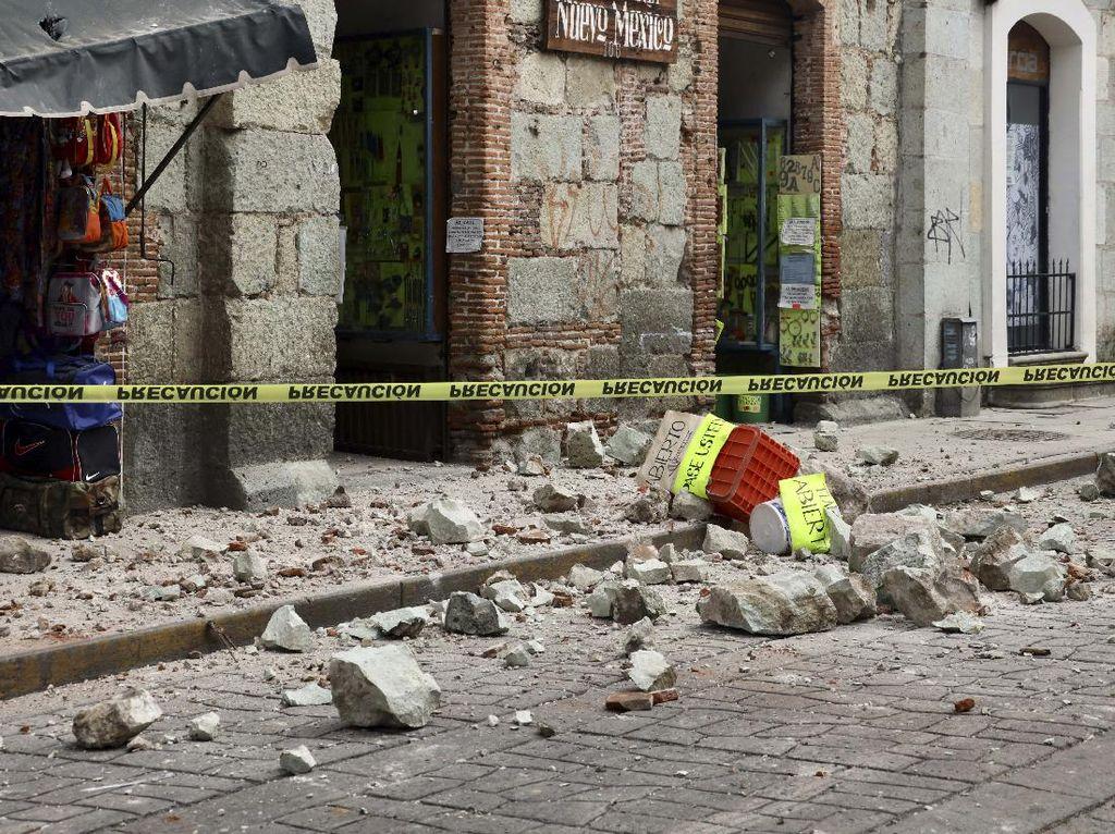 Gempa M 7,4 Guncang Meksiko