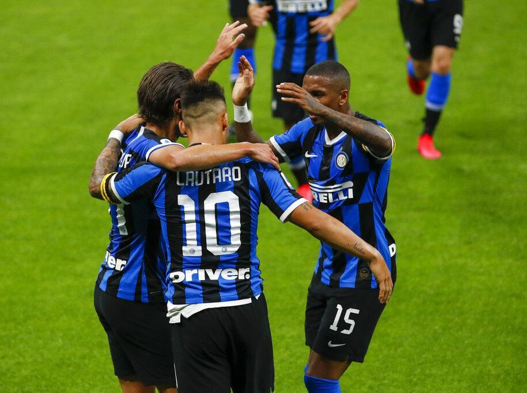 Drama 6 Gol Inter Vs Sassuolo