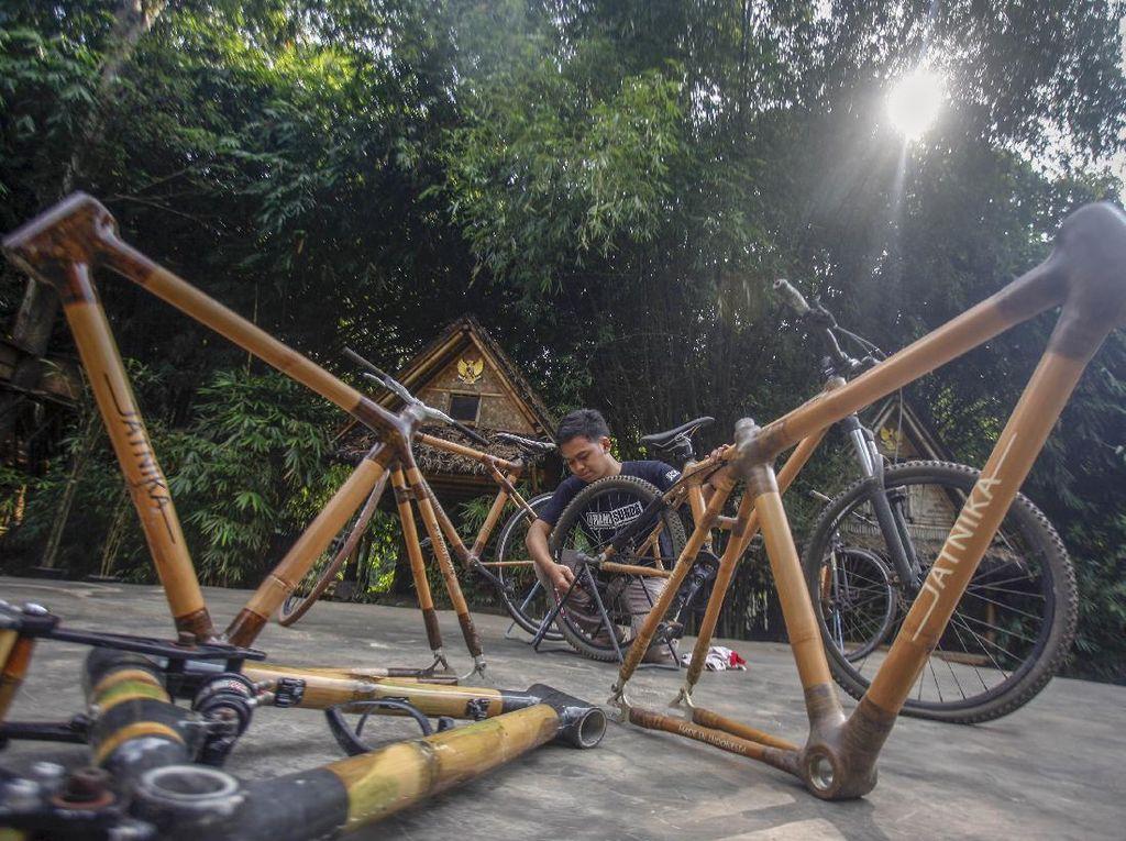 Keren! Sepeda Bambu Made in Indonesia Tembus Pasar ASEAN