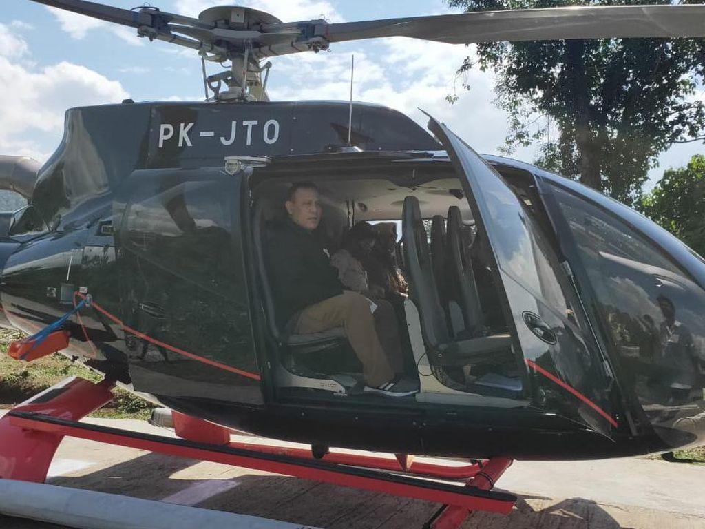 Mewah, Helikopter yang Ditumpangi Ketua KPK Firli Harganya Hampir Rp 50 M