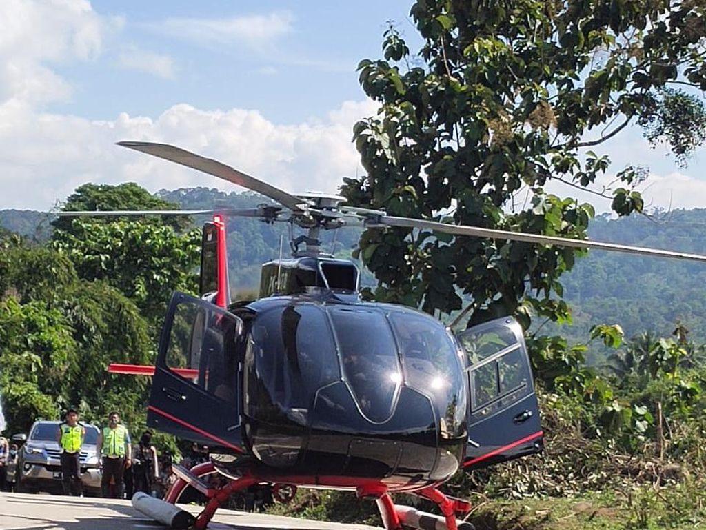Wow! Heli Mewah yang Disewa Ketua KPK Firli Tarifnya Rp 7 Juta Per Jam
