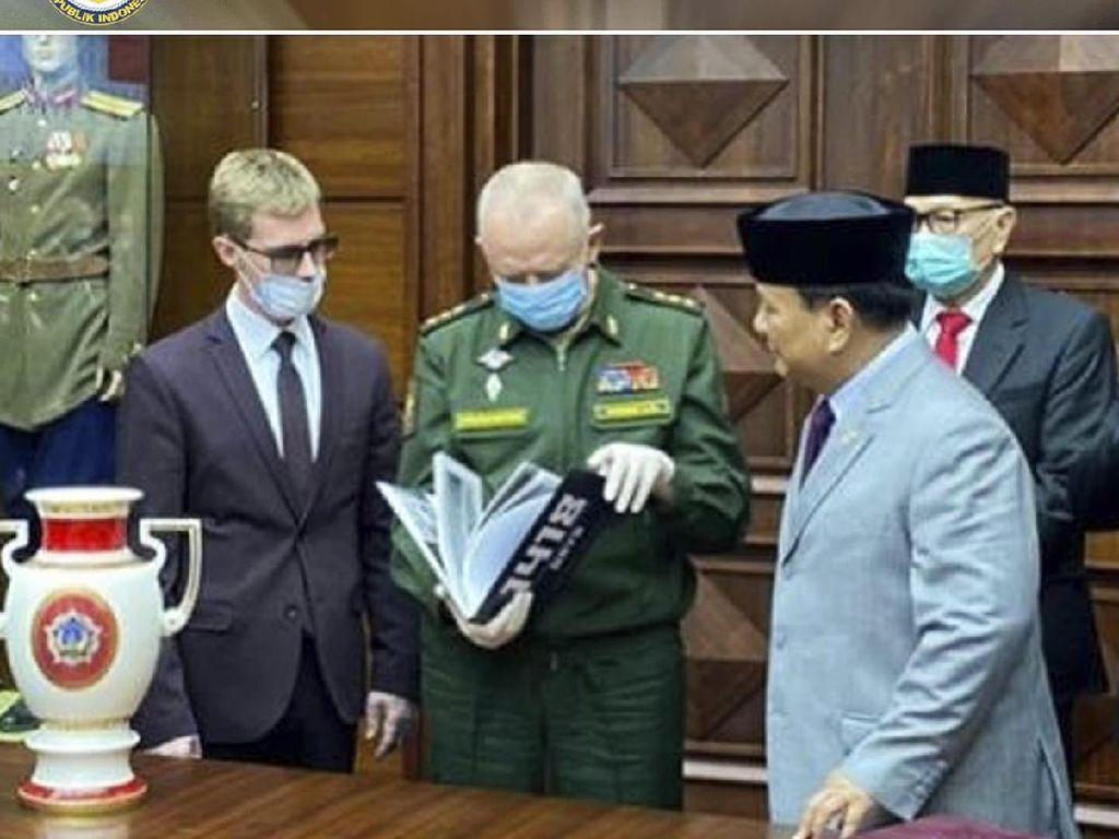 Dikunjungi Prabowo, Begini Gambaran Situasi Corona di Moskow
