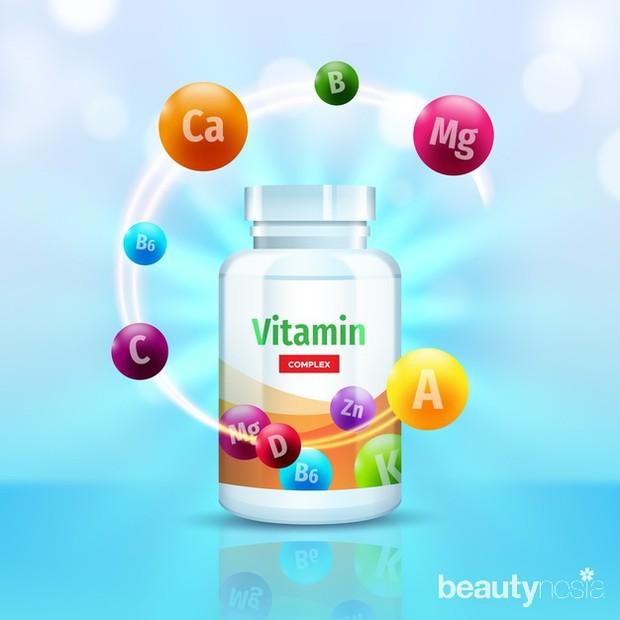 Vitamin sangat dibutuhkan agar tubuh tetap sehat