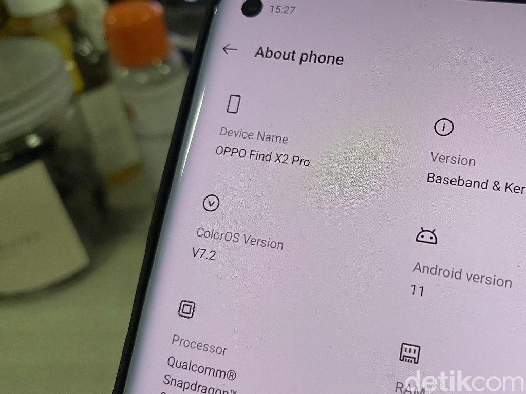 Android 11 Beta Tersedia di Oppo Find X2 Series, Ini Caranya!