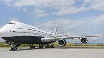 Potret Pesawat Jet Pribadi Mewah Bak Istana