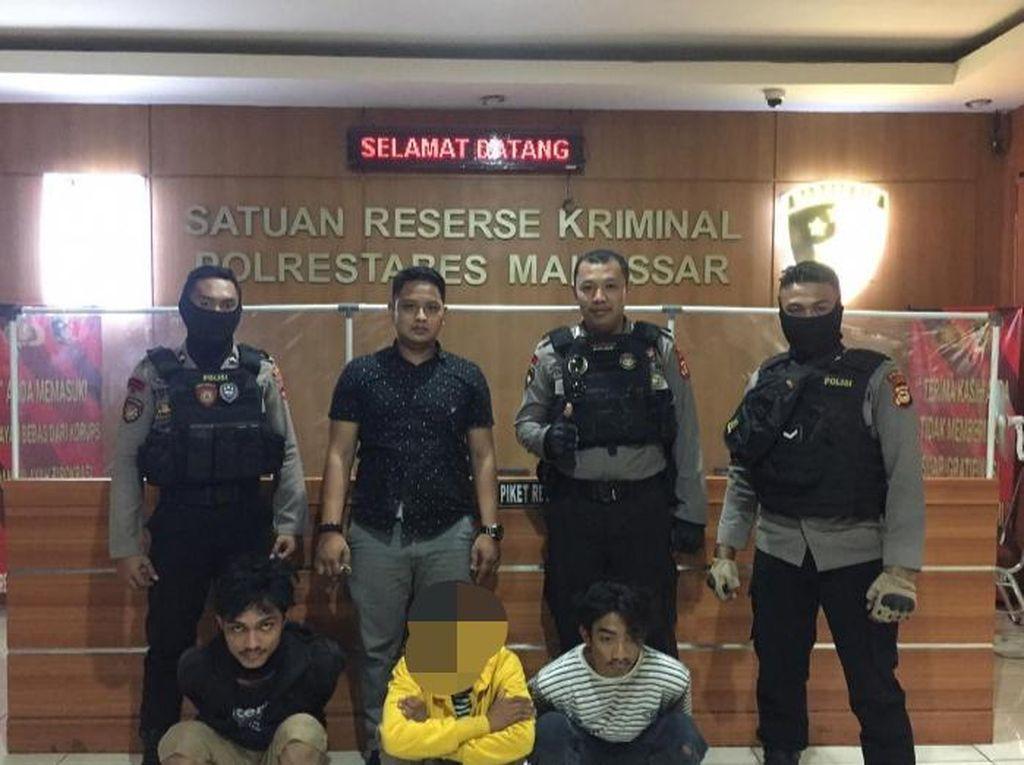 Hendak Menyerang Warga, 3 Orang di Makassar Diamankan Polisi