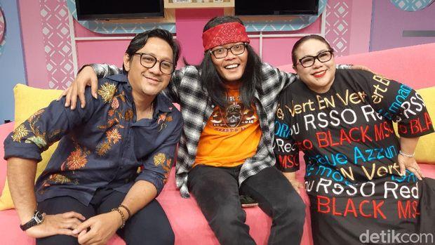 Sule, Andre Taulany, dan Nunung isi acara Santuy Malam.