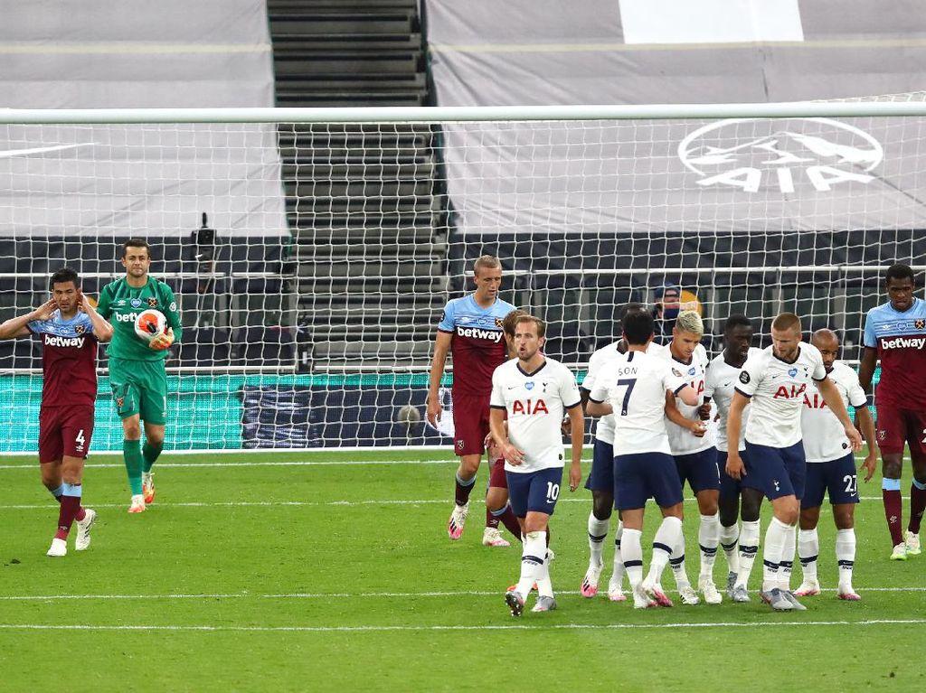 Bekap West Ham, Tottenham Mulai Bisa Pikirkan Kompetisi Eropa