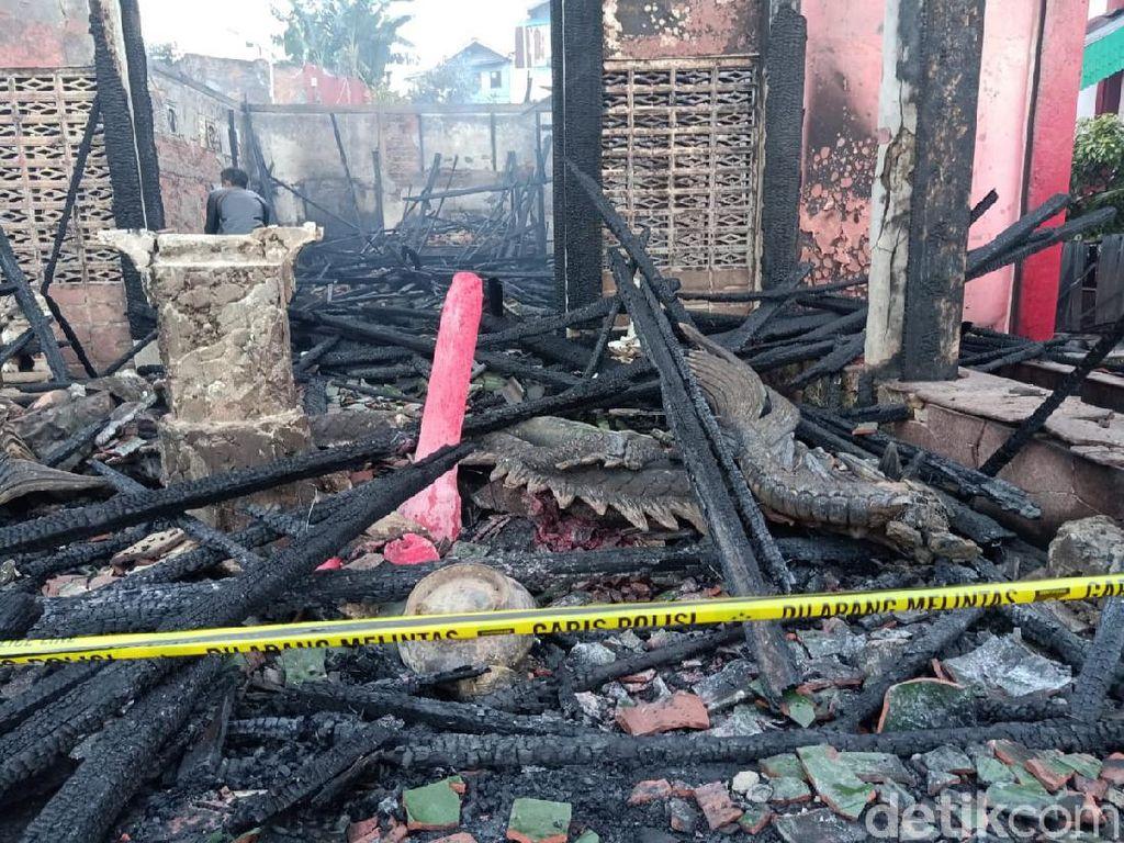 Vihara Setia Dharma Balikpapan Kebakaran, Diduga karena Korsleting