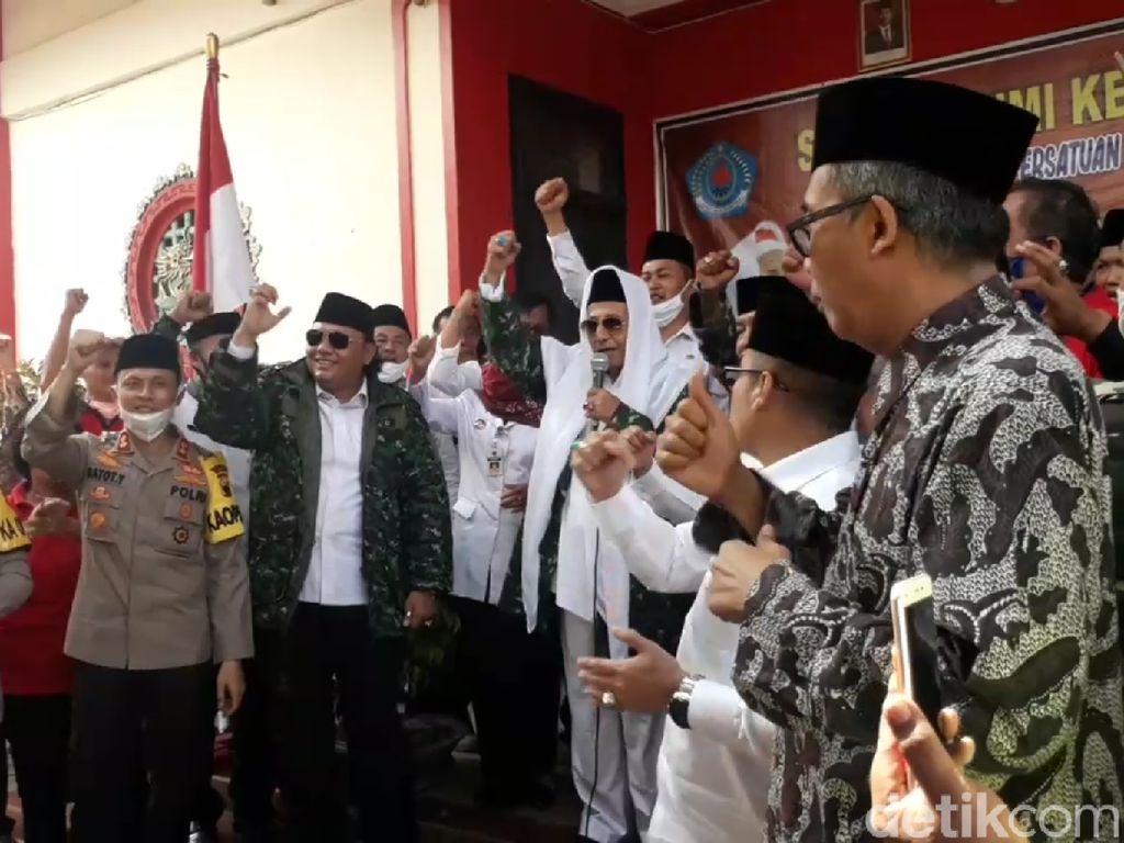 Habib Luthfi Silaturahmi Kebangsaan ke Masjid-Klenteng-Gereja di Brebes