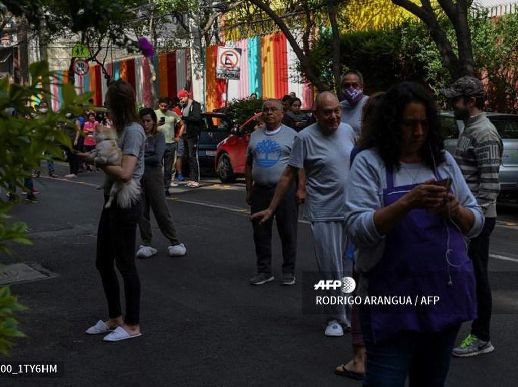 Pemerintah AS Berikan Peringatan Dini Tsunami Terkait Gempa M 7,4 Meksiko