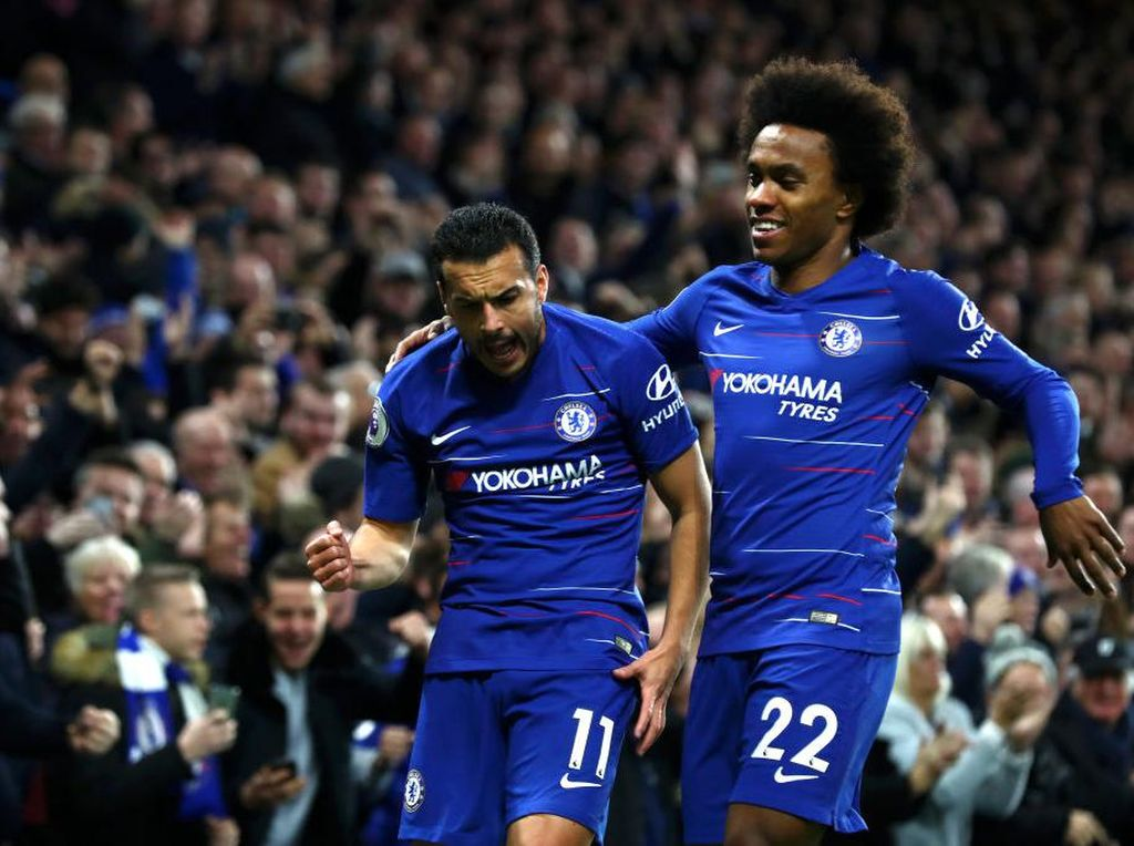 Willian dan Pedro Tetap di Chelsea Sampai Musim Tuntas