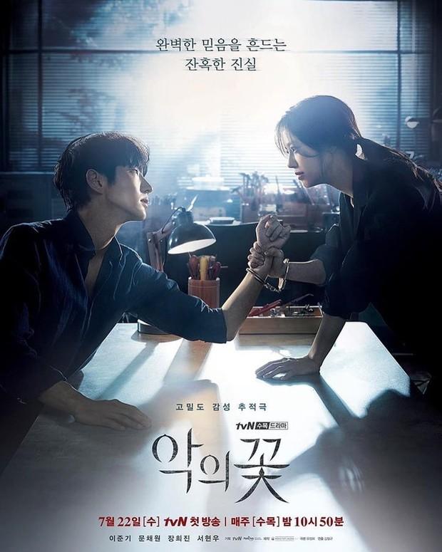 Poster Drama Flowers Evil
