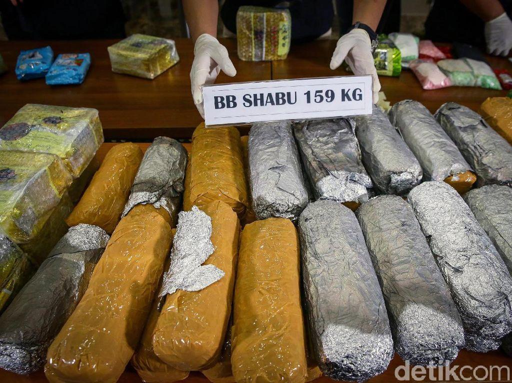 Buru Pemesan 159 Kg Sabu, Bareskrim: Inisialnya Sudah Kami Dapat