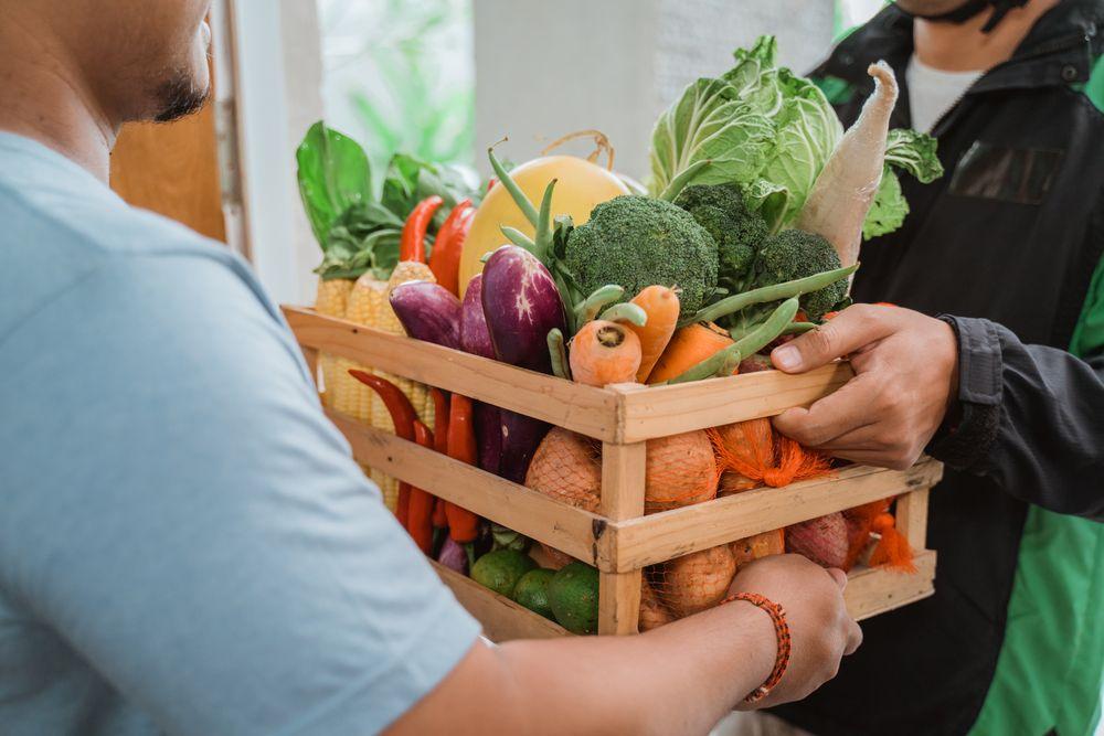 belanja sayur