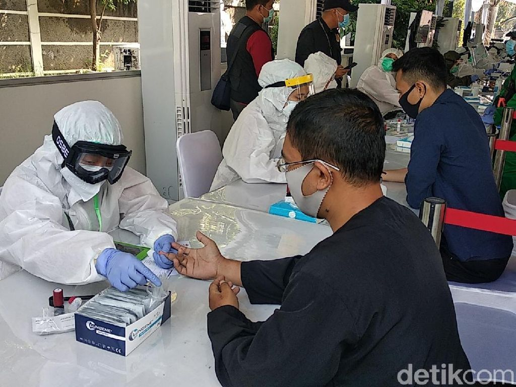 BIN Rapid Test 92 Warga Bandung, 1 Orang Reaktif