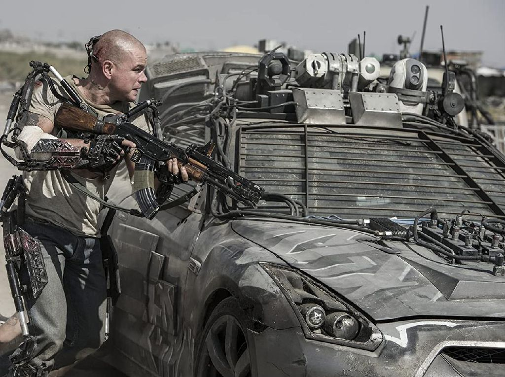 Sinopsis Elysium, Matt Damon Berusaha Lolos dari Bumi yang Sekarat
