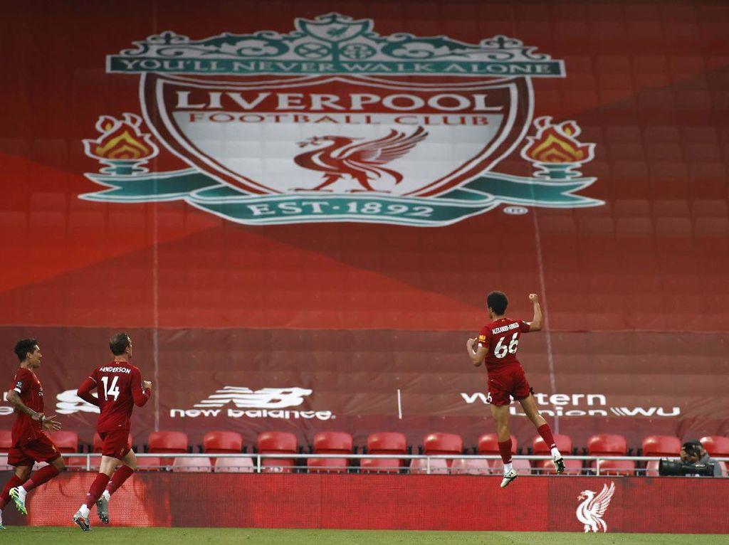 Klasemen Liga Inggris: Liverpool di Depan Takhta Juara