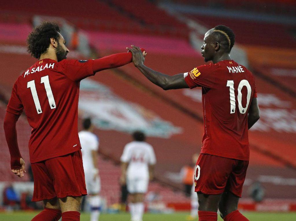 Liverpool Juara Liga Inggris, Siapa Saja yang Kebagian Medali?