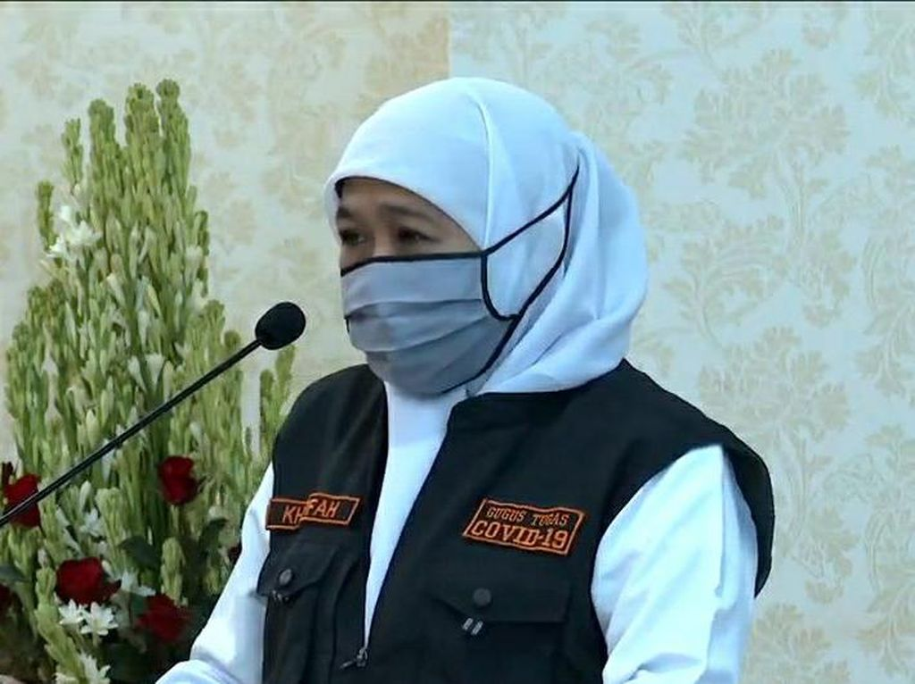 Khofifah Janjikan Kapasitas RS Darurat Akan Ditambah 200 Bed