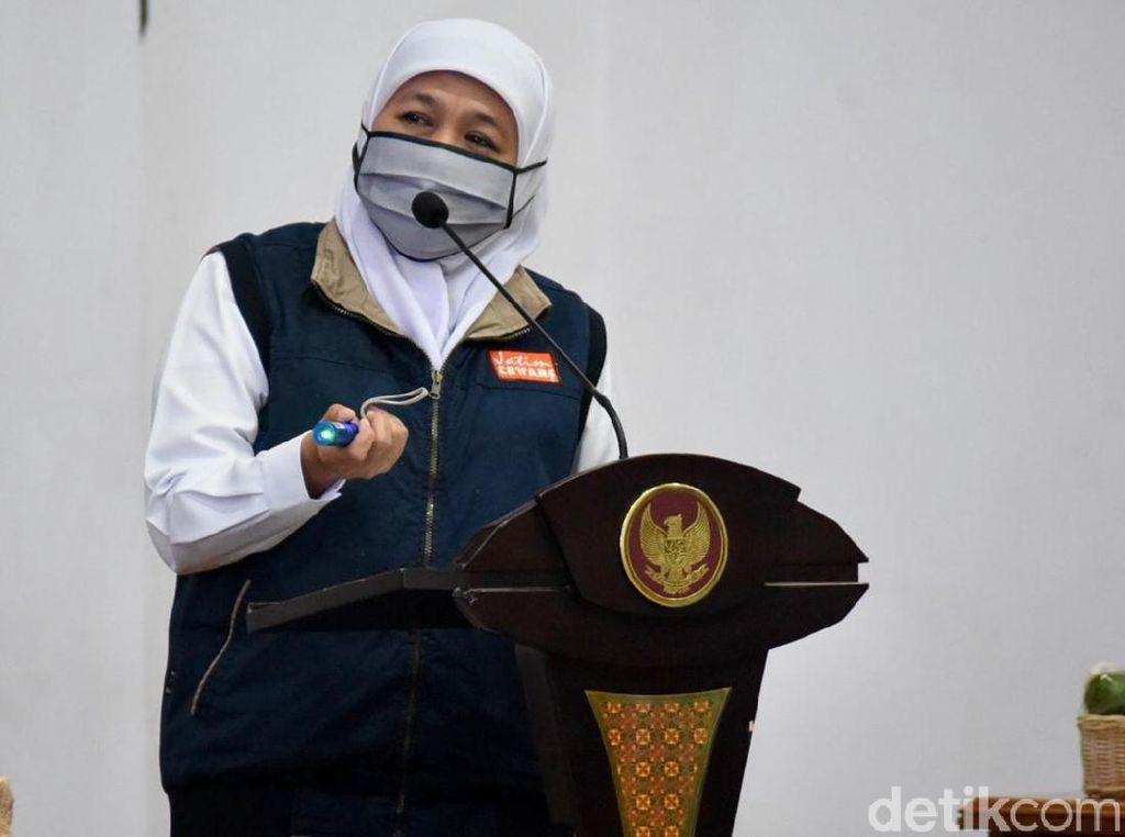 Khofifah Beberkan Hasil Survey Soal Bandelnya Warga Surabaya Raya