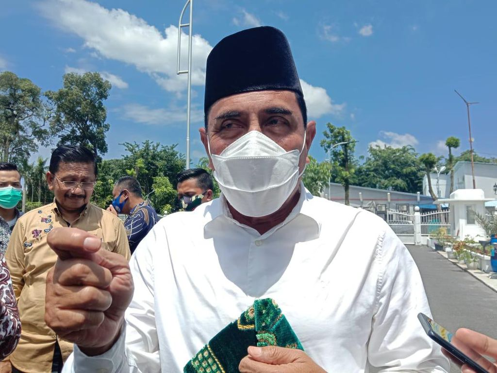Sakit Hati Gubsu Edy Dilaporkan ke KPK Berkali-kali