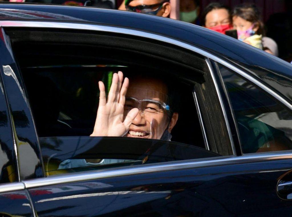HUT Bhayangkara Ke-74, Jokowi: Pandemi COVID Cobaan Berat, Harus Kerja Keras