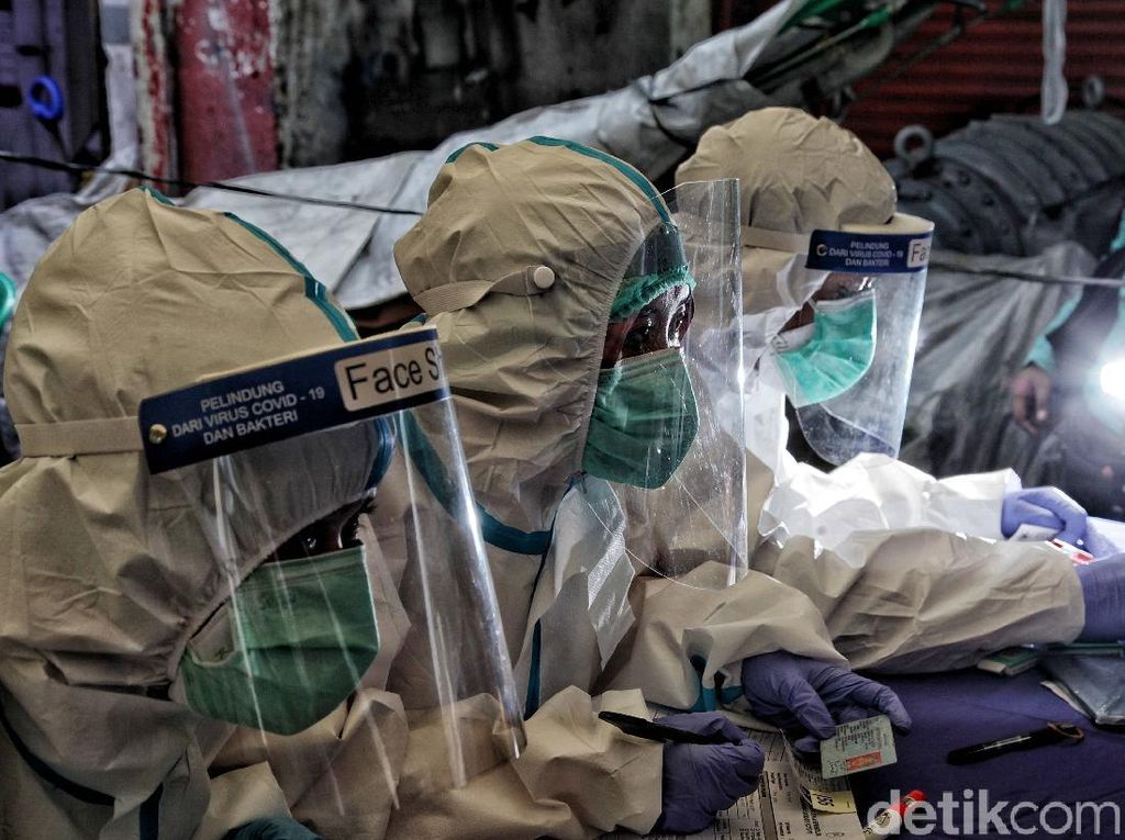 Pemprov DKI Kembali Buka Loker Tenaga Kesehatan untuk Penanganan COVID-19