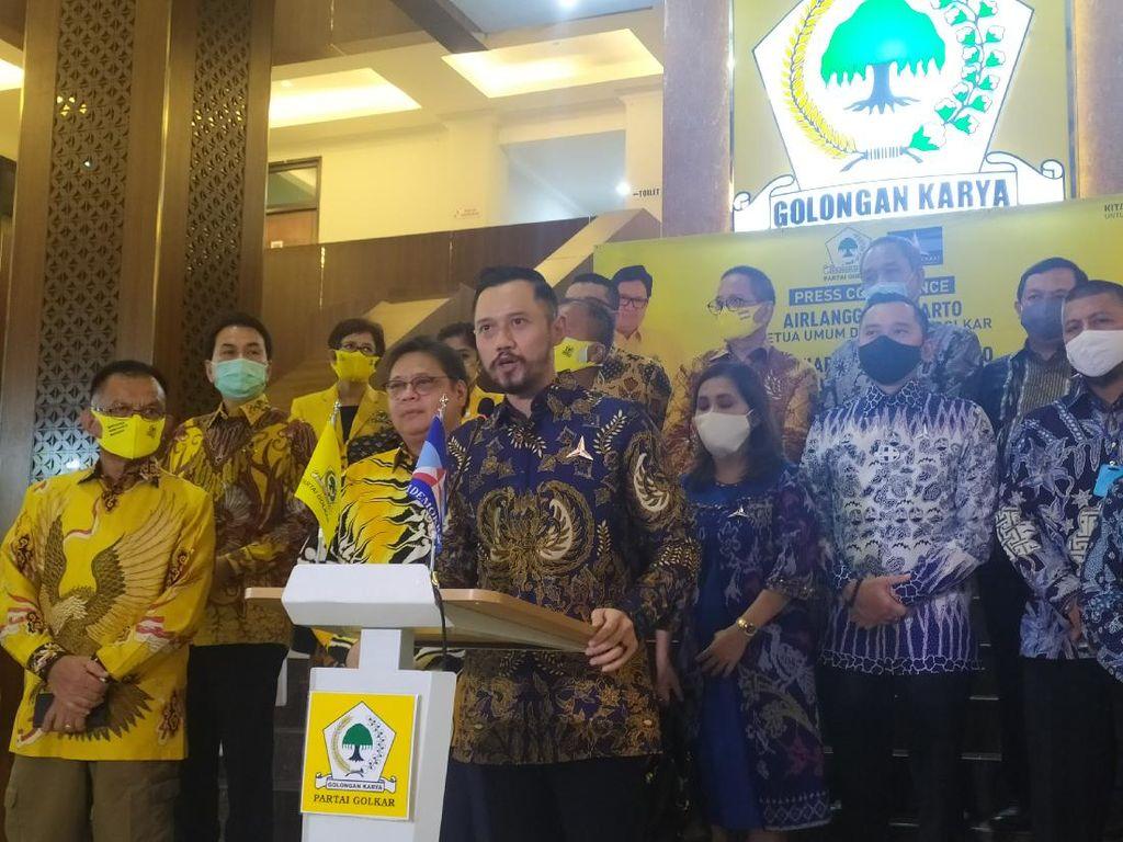 AHY Ungkap Sudah Temui Jokowi-Maruf Usai Kongres Demokrat