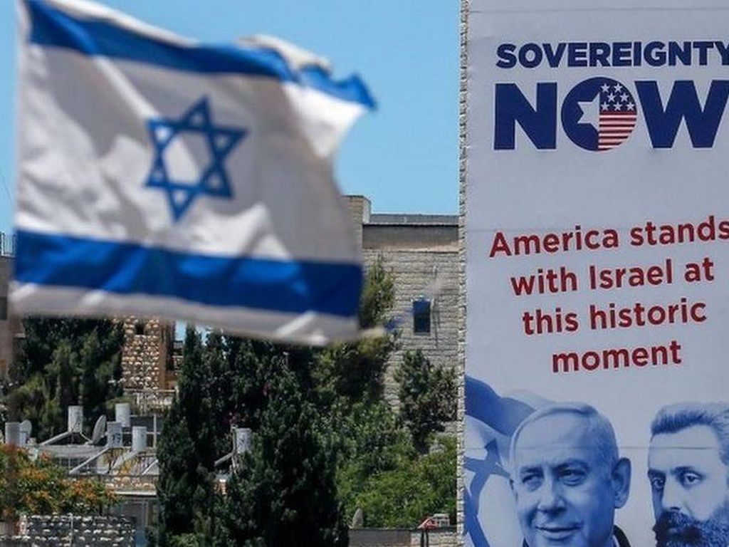 Demi Tepi Barat dalam Genggaman, Israel Pepet Palestina Berdalih Perdamaian
