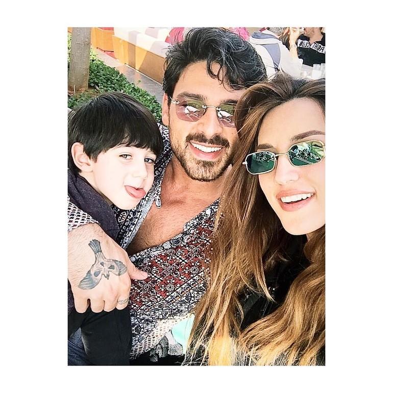 Michele Morrone dan Rouba Saadeh menikah pada 2014, tapi rumah tangga mereka hanya bertahan empat tahun. Foto: Instagram/@iamichelemorroneofficial