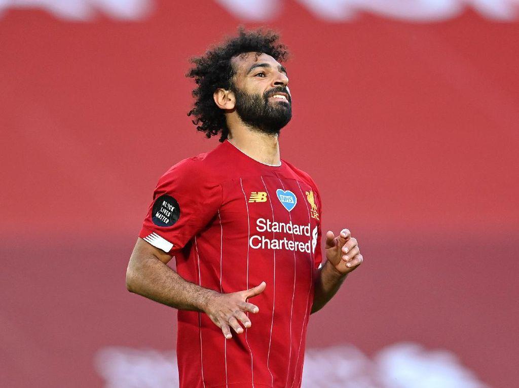 Liverpool Juara Liga Inggris, Mohamed Salah Puas Banget