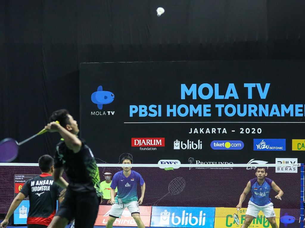 Jadwal Mola TV PBSI Home Tournament Ganda Campuran