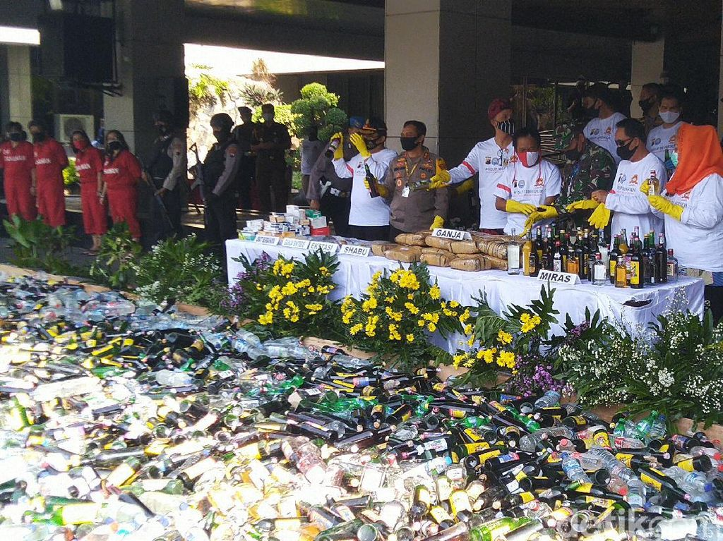 Jateng Rangking ke-4 Penyalahgunaan Narkoba Terbanyak se-Indonesia