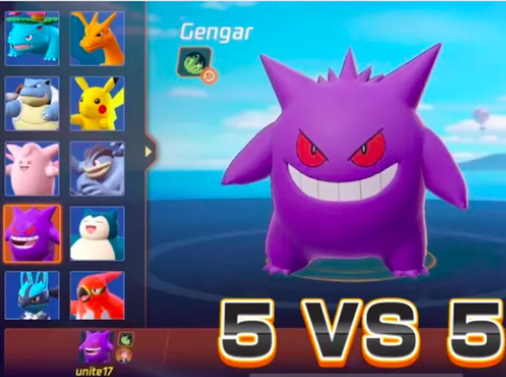 Pokemon Unite, Game MOBA Pokemon Perdana